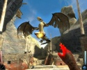 Dark Messiah of Might and Magic Demo Ingame contro un Drago