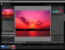 Adobe Photoshop Lightroom La schermata di editing, con gli strumenti colore