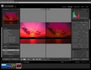 Adobe Photoshop Lightroom Confronto diretto foto prima e dopo l'editing