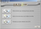 DVD2one Interfaccia principale del programma
